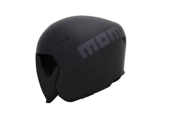 Casco de Moto Momo Aero Negro